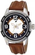 Fastrack Analog White Dial Men's Watch – 3157KL01