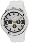 Fastrack Chronograph White Dial Men's Watch – 38002PP01J
