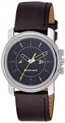 Fastrack Economy Analog Black Dial Men's Watch – NE3039SL02