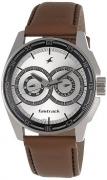 Fastrack Black Magic Analog Silver Dial Men's Watch – NE3089SL07