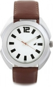 Fastrack Casual Analog Silver Dial Men's Watch – 3117SL01