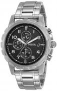 Fossil Analog Black Dial Men's Watch – FS4542