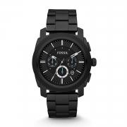 Fossil Analog Black Dial Men's Watch – FS4552