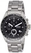Fossil Decker Chronograph Analog Black Dial Men's Watch – CH2600IE