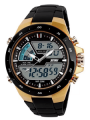 Skmei 1016-Gold Chronograph Watch – For Men
