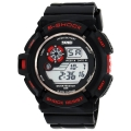 Skmei Sports Chronograph Digital Red and Black Dial Men's Watch – DG0939
