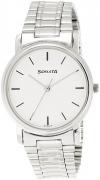 Sonata Analog White Dial Men's Watch – ND1013SM01