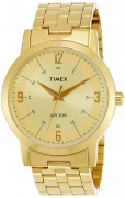 Timex Classics Analog Gold Dial Men's Watch – TI000T10300