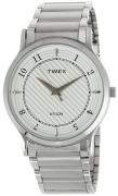 Timex Classics Analog White Dial Men's Watch – TI000R40800