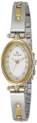 Titan Analog White Dial Women's Watch – 2418BM03