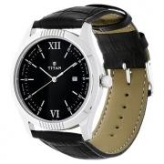 Titan Analog Black Dial Men's Watch – 1739SL01