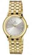 Titan Analog Silver Dial Men's Watch – 1648YM01