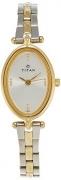 Titan Karishma Analog Silver Dial Women's Watch – NE2418BM01