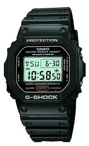 Casio G-Shock Digital Grey Dial Men's Watch - DW-5600E-1VQ