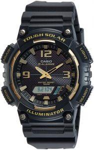 Casio Youth-combination AQ-S810W-1A3VDF Analog-Digital Black Dial Men's Watch