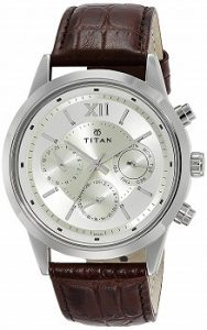 Titan Neo Analog Champagne Dial Men's Watch-1766SL01