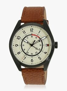 Tommy Hilfiger Th1791372 Brown Off White Analog Watch