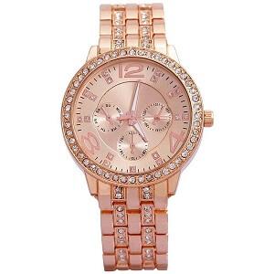Cosmic Rose Gold Dial Women's Watch - FDGFHHG
