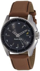 Fastrack Black Magic NE3089SL05 Analog Black Dial Men's Watch -