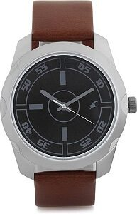 Fastrack NF3123SL03C Bare Basic Analog Watch - For Men