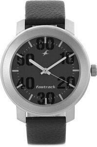Fastrack NG3121SL02C Bare Basic Analog Watch - For Men