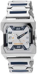 Fastrack Party Analog White Dial Men's Watch NE1474SM01