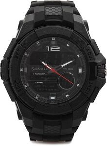 SF NH77027PP01J Analog-Digital Watch - For Men