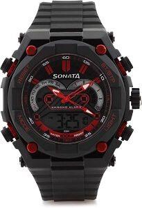 Sonata NH77030PP01J Superfibre Ocean III Watch - For Men & Women