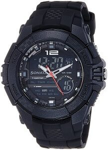 Sonata Ocean Series III Chronograph Multi-Color Dial Unisex Watch
