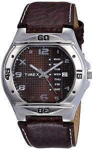 Timex Fashion Analog Brown Dial Men's Watch EL04