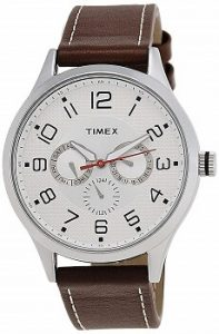 Timex Fashion Analog Silver Dial Men's Watch - TW000T304