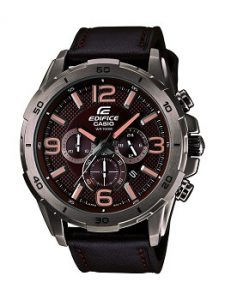 Casio Edifice EFR-538L-5AVUDF Chronograph Brown Dial Men's Watch