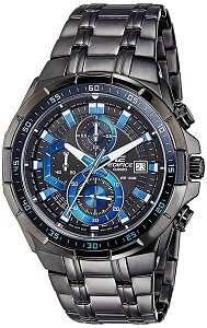 Casio Edifice Chronograph Black Dial Men's Watch - EFR-539BK-1A2VUDF