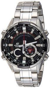Casio Edifice ERA-600D-1AVUDF Analog-Digital Black Dial Men's Watch