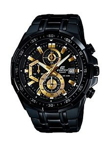 Casio Edifice Stopwatch Men's Chronograph EFR-539BK-1AVUDF