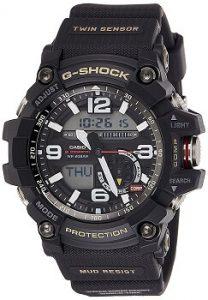 Casio G-Shock Analog-Digital Black Dial Men's Watch - GG-1000-1ADR