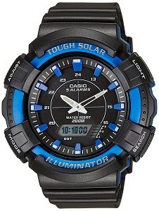 Casio Youth Series Analog-Digital Black Dial Unisex Watch - AD-S800WH-2A2VDF