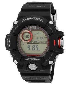 G-Shock Digital Grey Dial Men's Watch - GW-9400-1DR