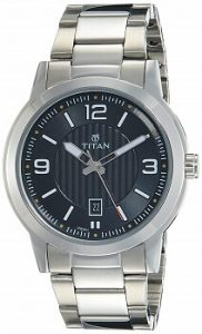 Titan Neo Analog Black Dial Men's Watch-NK1730SM02