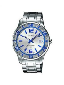 Casio Enticer LTP-1359D-7AVDF Analog Silver Dial Women's Watch