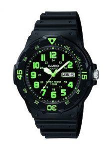 Casio Enticer MRW-200H-3BVDF Analog Black Dial Men's Watch