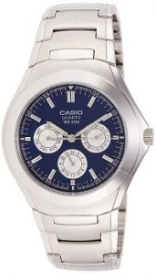 Casio Enticer MTP-1247D-2AVDF Blue Dial Men's Watch