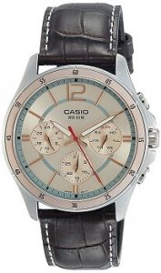 Casio Enticer MTP-1374L-9AVDF Analog Pink Dial Men's Watch