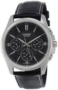 Casio Enticer MTP-1375L-1AVDF Black Dial Men's Watch