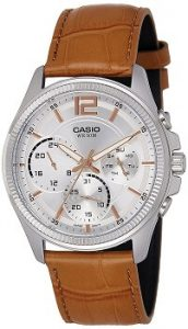 Casio Enticer MTP-E305L-7A2VDF Analog White Dial Men's Watch