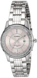 Casio LTP-1358D-4AVDF Enticer Analog Pink Dial Women's Watch