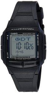 Casio Vintage Series DB-36-1AVDF Black Dial Men's Watch