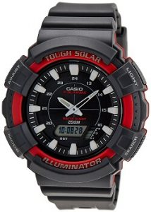 Casio Youth AD-S800WH-4AVDF Series Analog-Digital Black Dial Unisex Watch