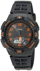 Casio Youth AQ-S800W-1B2VDF World-time Analog-digital Black Dial Men's Watch