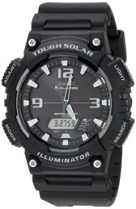 Casio Youth AQ-S810W-1AVDF Analog-digital Black Dial Men's Watch